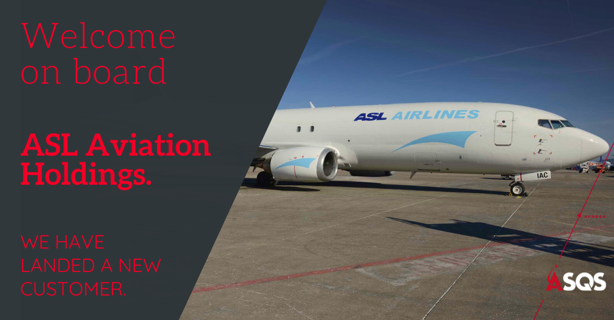 ASL Aviation Holdings flied with IQSMS, ASQS, Aviation safety, SMS
