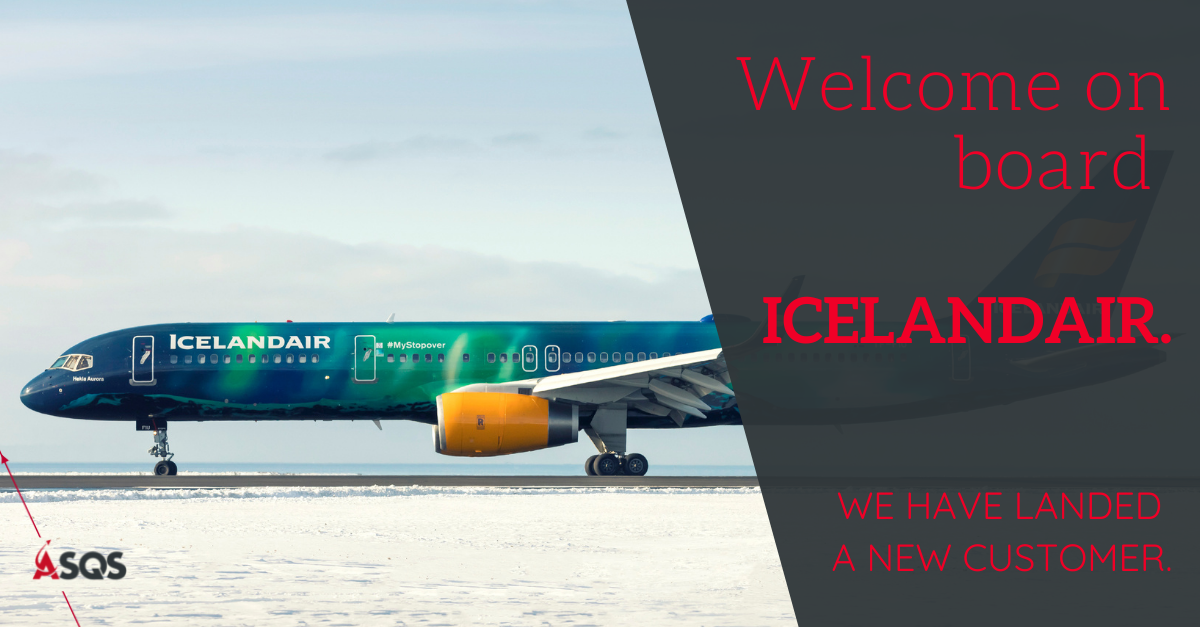 IQSMS, ASQS, Icelandair, Reporting, Risk Management, aviation safety, aviation audit, FDM, aviation compliance